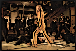 Uma Thurman trägt Onitsuka Tiger im Film Kill Bill